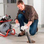 Электромеханический способ прочистки канализационных труб
