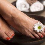 Правильный уход за кожей ног